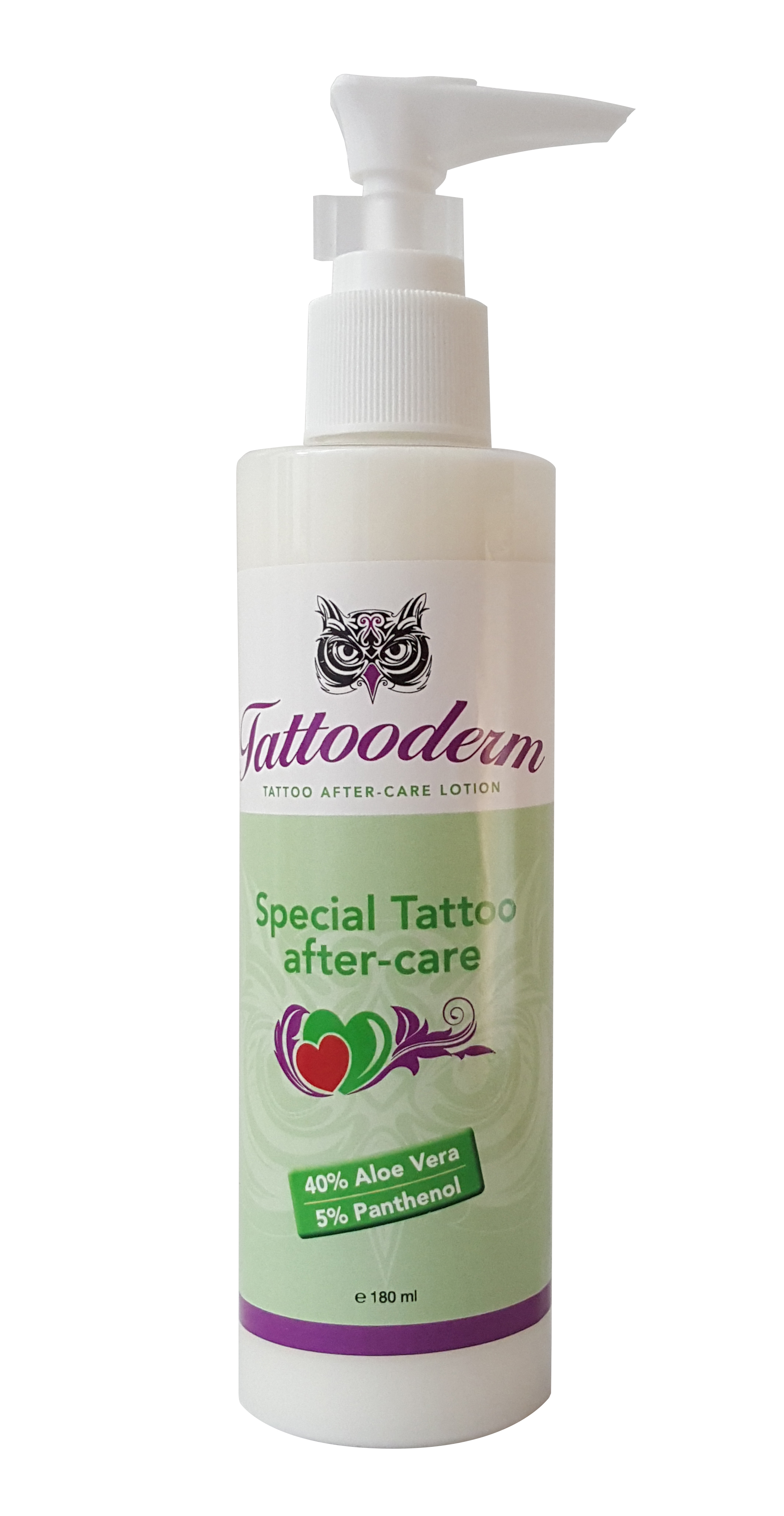 Tattooderm after care lotion sth for After tattoo lotion